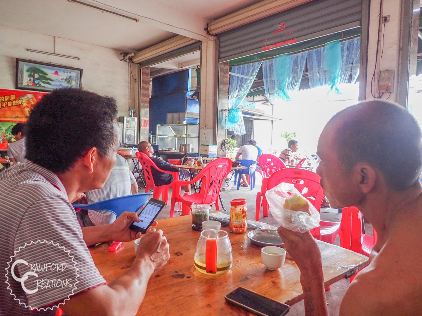 Local Chinese breakfast