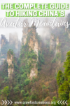 Avatar Mountains | Wulingyuan Scenic Area | Zhangjiajie | Avatar Mountains Hiking | Wulingyuan Hiking | Zhangjiajie National Forest Park | Zhangjiajie National Park Hiking | Wulingyuan Travel Guide | Avatar Mountains Travel Guide | China Hiking | China Travel | Avatar Mountains China | Zhangjiajie Hiking | Zhangjiajie Mountains | Huangshizhai | Tianzi Mountain