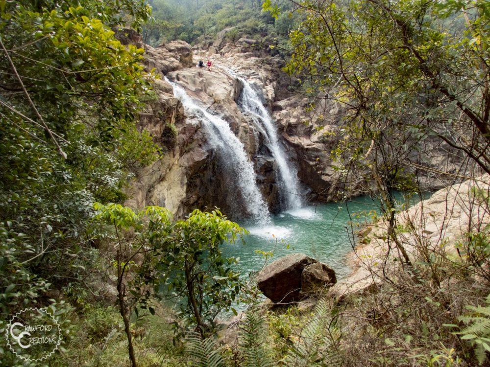 jiangmen-twin-waterfall
