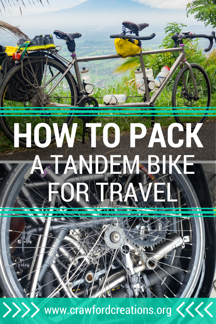tandem packing, S&S case, air travel