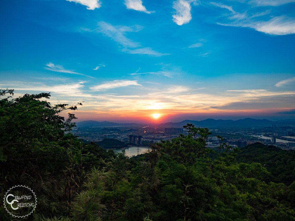 zhuahi-sunset