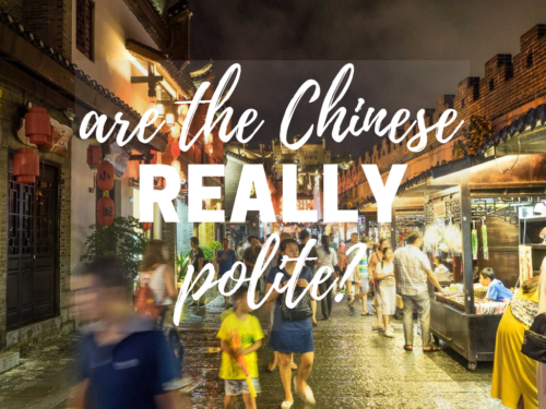Questions & Answers: Are the Chinese REALLY Polite?