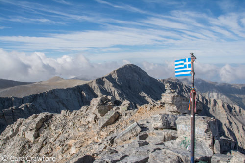 Hiking Mt Olympus, Greece