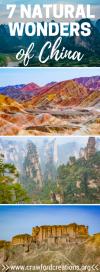 World Wonders | China | Wonders of China | Amazing Destinations | China Travel | Best Places China | Travel Inspiration | Wonders of the World | Best Places to Travel | China Travel Destinations