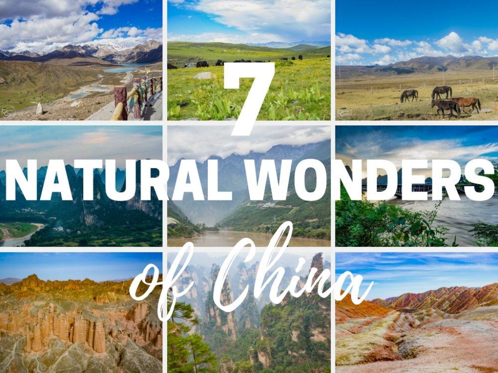 7 Natural Wonders of China