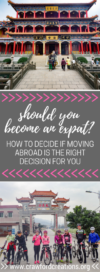 Expat Life | Life Abroad | Live Overseas | Work Abroad | Work Overseas | Live Abroad | Life Decisions | Move Abroad