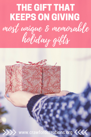 Gift Giving   Holiday Gifts   Holiday Presents   Memorable Gifts   Unique Gifts   Forever Gifts