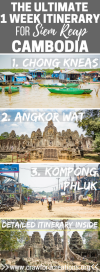 Siem Reap Itinerary | Cambodia Itinerary | Siem Reap Travel | Cambodia Travel Plans | Cambodia Travel | Things To Do In Siem Reap | What To Do In Siem Reap | Things To See In Cambodia | Must See Attractions In Cambodia | Must See Attractions In Siem Reap | Best Places To Go In Siem Reap | Best Things To Do In Siem Reap | Best Places To Go In Cambodia | Cambodia Travel Tips