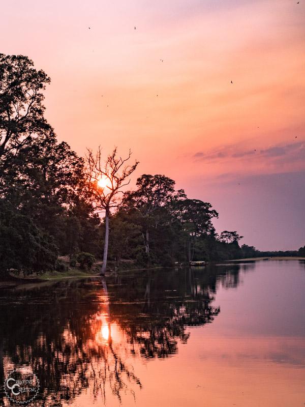 angkor-thom-sunset