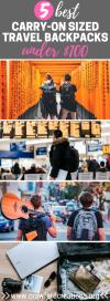 Best Travel Backpacks | Best Budget Travel Backpacks | Affordable Travel Backpacks | Best Travel Backpacks Under $100 | Best Cheap Travel Backpacks | Travel Backpack | Travel Gear | Backpacks | Backpacking Packs | Best Backpacking Bags | Carry On Travel Backpacks | Carry On Backpack