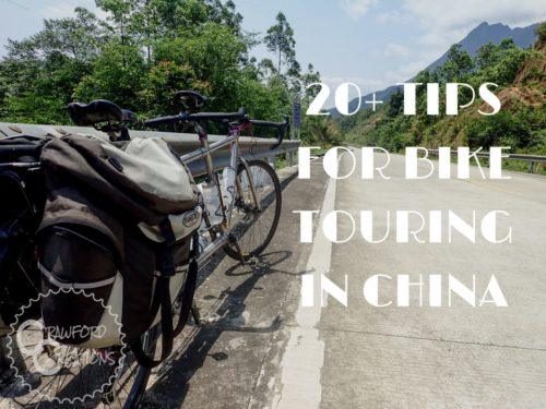 20+ Tips for Bike Touring in China