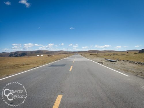 Lijiang to Chengdu by Tandem Bicycle Part 4: Riding in the Grasslands