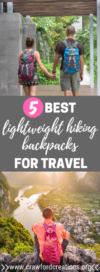 Best Lightweight Hiking Backpacks for Travel | Best Travel Backpacks | Best Hiking Backpacks | Best Carry On Sized Backpacks for Travel | Best Lightweight Travel Backpacks | Best Lightweight Travel Gear | Best Ultralight Travel Backpacks | Best Travel Gear