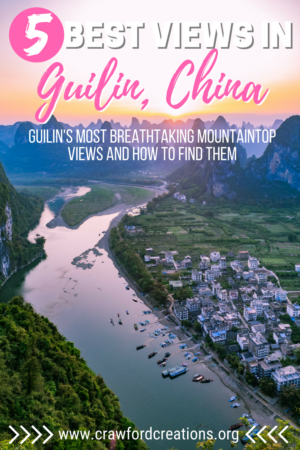 Best Views In Guilin | Best Guilin Viewpoints | Best Mountain Views Guilin | Best Views In Yangshuo | Best Yangshuo Viewpoints | Best Sunset Views In Guilin | Best Sunrise Views In Guilin | Best Sunset Views In Yangshuo | Best Sunrise Views In Yangshuo | Best Views Longji Rice Terraces | Best Viewpoints Longji Rice Terraces | Best Hikes In Guilin | Best Hikes In Yangshuo | Best Hikes Longji Rice Terraces | Guilin Travel | Yangshuo Travel | China Travel | China Hiking