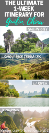 Guilin Itinerary | Guilin Tour | Guilin Yangshuo Itinerary | Li River Bamboo Raft | Rice Terraces Guilin | Longji Rice Terraces | Longsheng Rice Terraces | How To Plan A Trip To Guilin | Xingping Guilin | Yangshuo Travel | Yangshuo Itinerary | Things To Do In Guilin | Things To Do In Yangshuo | China Travel | Guilin China | Things To Do In Xingping | China Itinerary