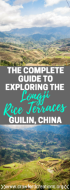 Longji Rice Terraces | Longji Rice Terraces Guilin | Longsheng Rice Terraces Guilin | Dazhai Rice Terraces | Ping'an Rice Terraces | Longji Rice Terraces Travel Guide | Longji Rice Terraces Hiking | Guilin Hiking | Best Hikes Longji Rice Terraces | Guilin Travel | China Travel | Best Hikes China | Best Hikes Guilin | Best Things To Do Guilin
