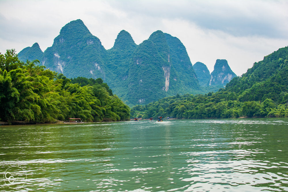 The BEST Way to Experience Guilin: Li River Bamboo Raft