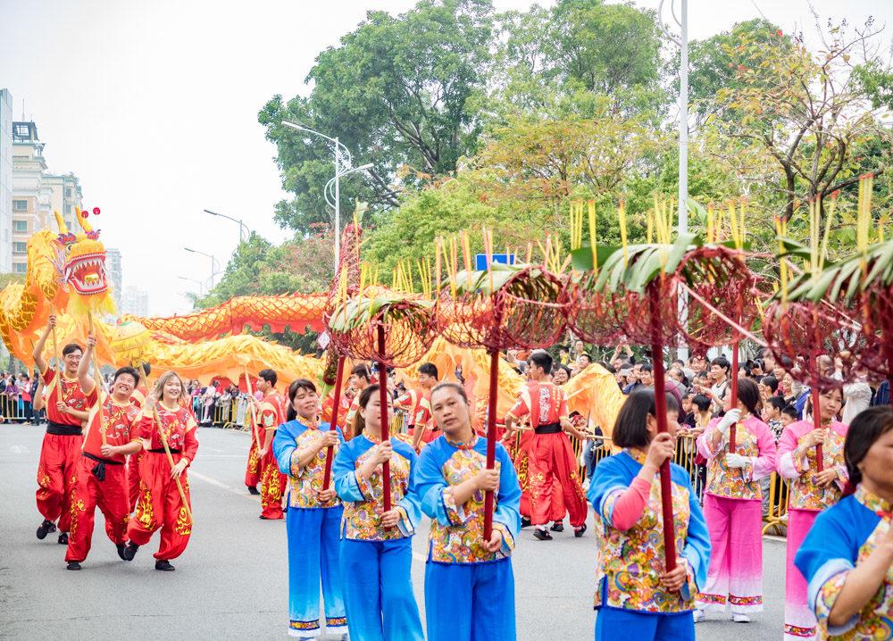 Celebrating Lantern Festival In China